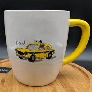 New Rae Dunn Taxi Mug..